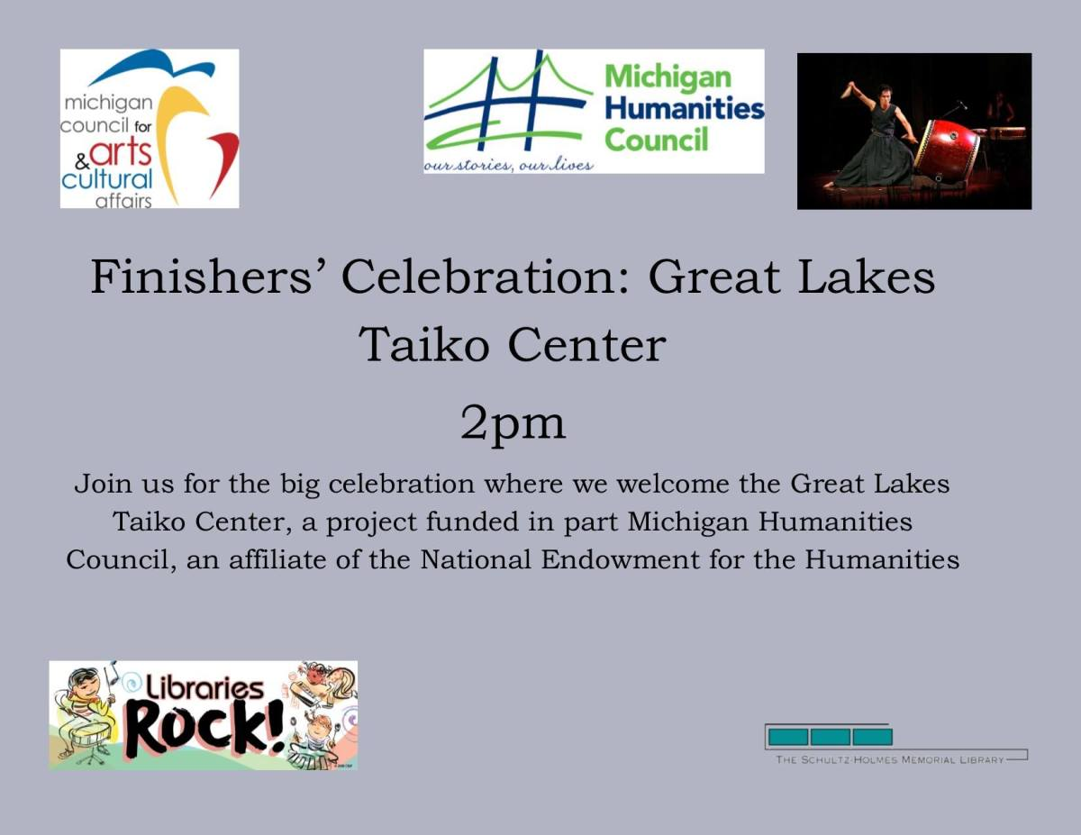 Finishers' Celebration: Great Lakes TaikoCenter